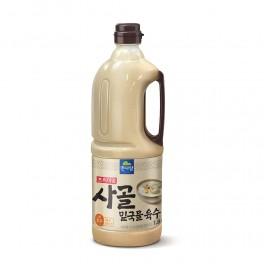 면사랑 사골밑국물육수 1.8L (업소용 사골육수 / 대용량 사골육수)
