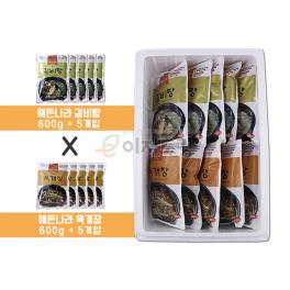 (합천 식품) 해든나라 육개장&갈비탕 (5+5) 세트