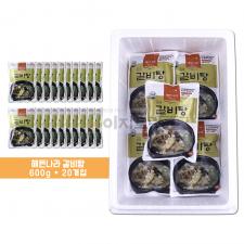 (합천 식품) 해든나라 진국 갈비탕 600g 1박스 (20봉)