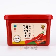 미소찬 태양초 골드 고추장 3kg (업소용 고추장 / 대용량 고추장)