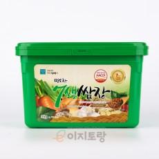 미소찬 7색쌈장 3kg (업소용 쌈장 / 대용량 쌈장)