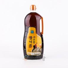 미소찬 고소한 참기름 1.6L (업소용 참기름 / 대용량 참기름)