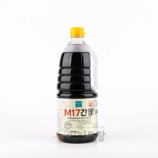 미소찬 M17간장 1.5L (양조간장17%함유) (업소용 간장 / 대용량간장)